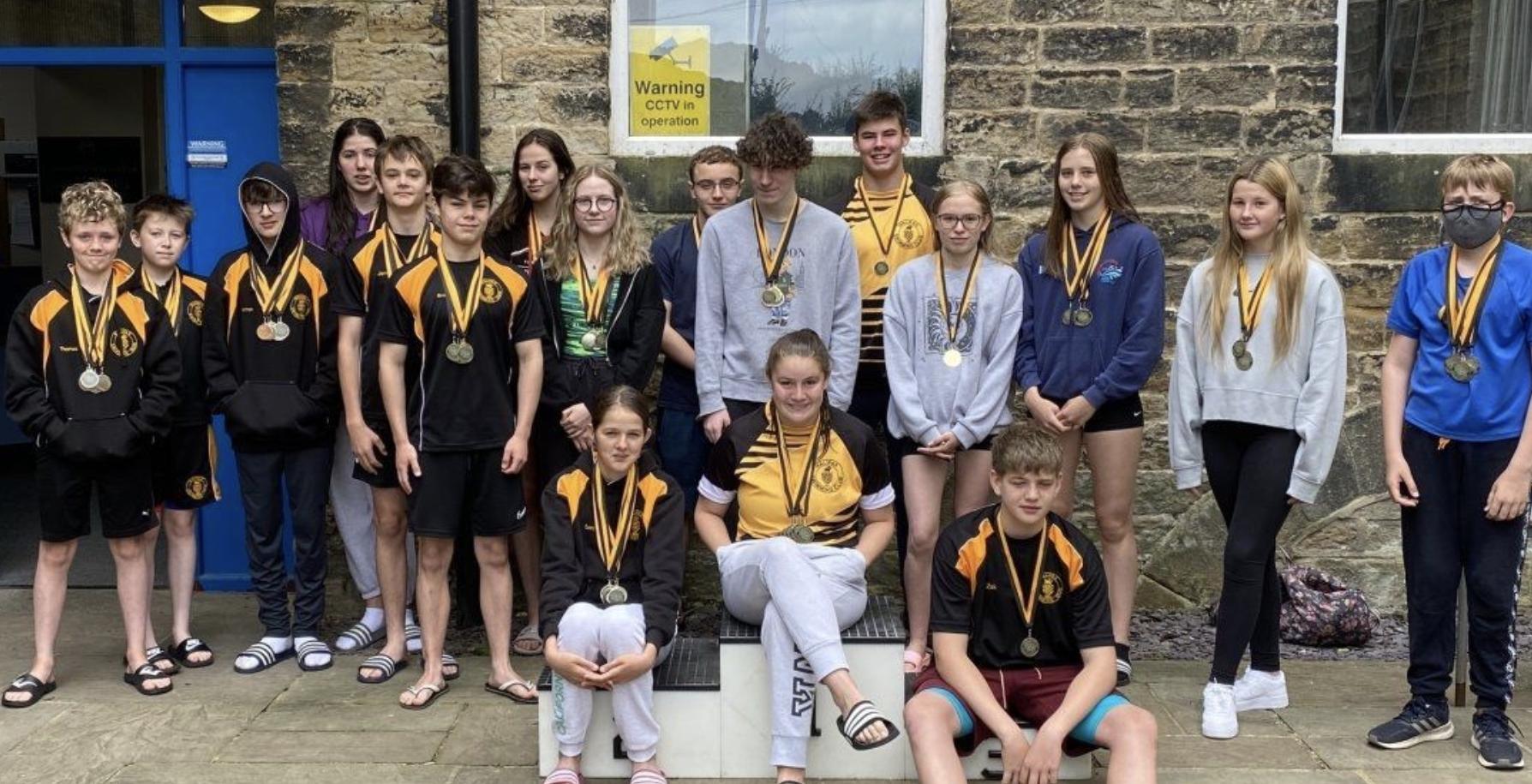 Winners at halifax swimming club