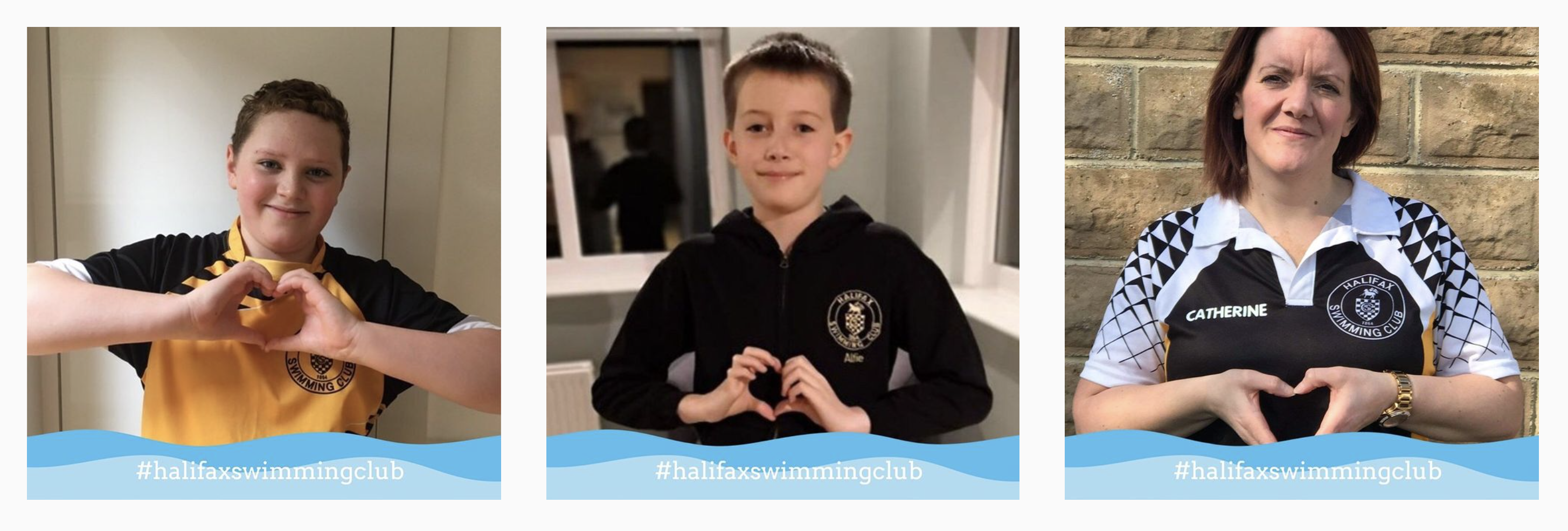 Halifax Swimming Club showing the love